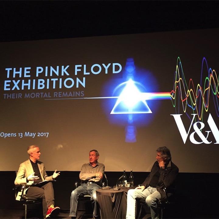 ピンク・フロイド大回顧展、ロジャー・ウォーターズ、ニック・メイソンが揃って記者会見!