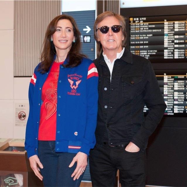 ポール・マッカートニー、来日公演のため羽田国際空港に到着!