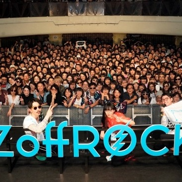 あいみょん、Nulbarichが登場!一夜限りのプレミアムイベント「Zoff Rock 2018」開催!