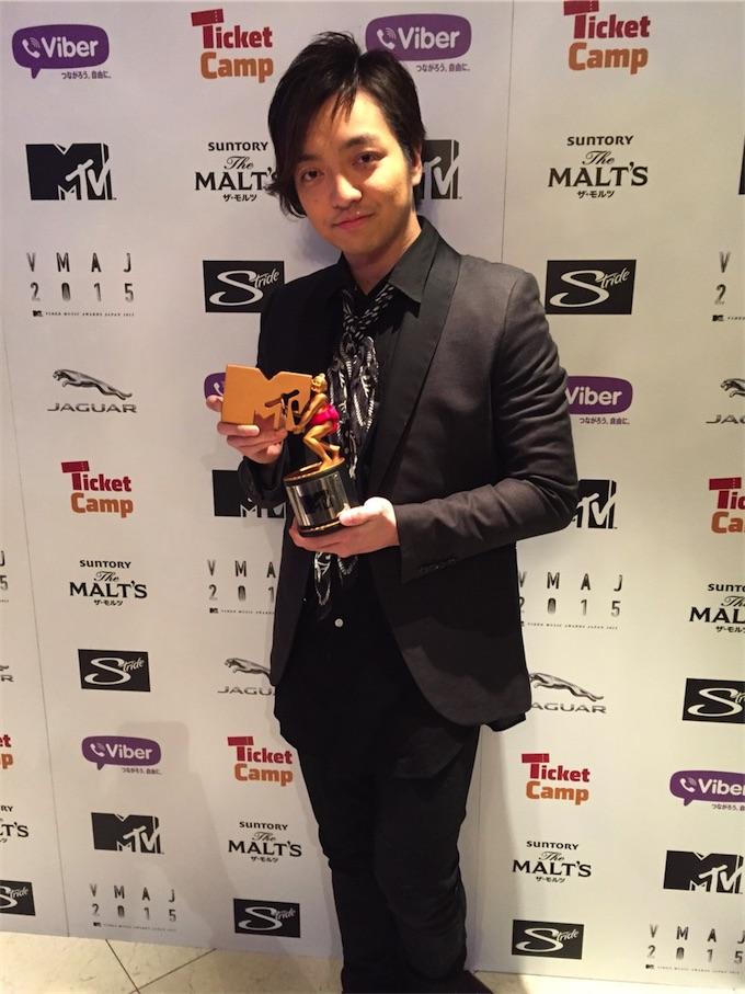 """三浦大知、MTV VMAJ 2015にて2年連続となる""""BEST R&B ARTIST""""を受賞!"""
