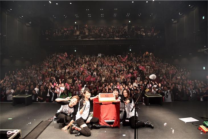 岸谷香 Unlock the girls  51才誕生日ライブでツアーファイナル!