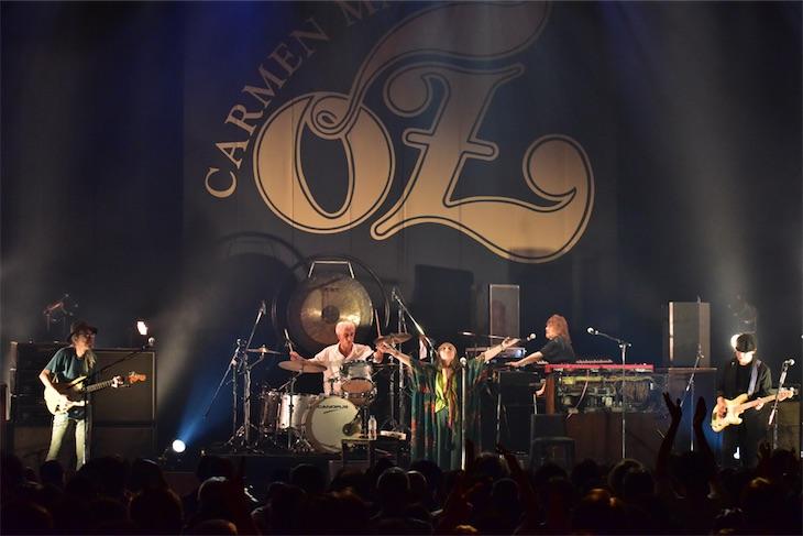 カルメン・マキ&OZ、川崎クラブチッタで41年ぶりの再結成!