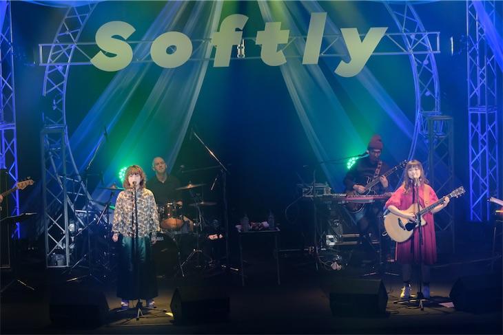Softly、活動休止前ラストを感じさせないポジティヴ&ハッピーなライブ!オフィシャルレポート