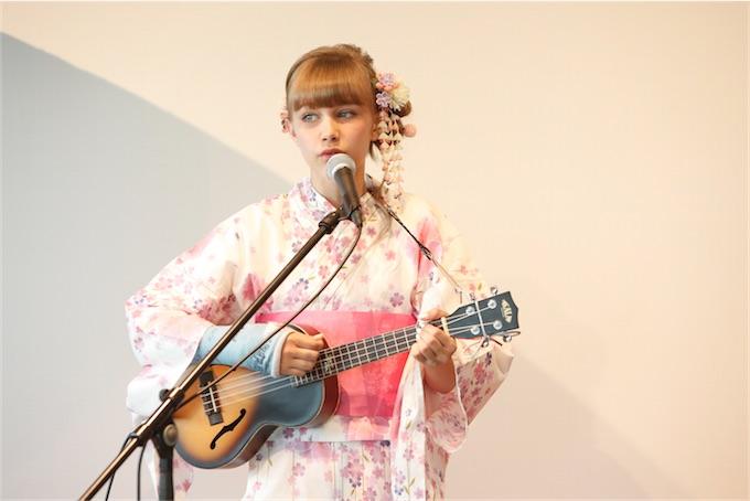 13歳の天才シンガー・ソングライター グレース・ヴァンダ--ウォール、日本初イベント開催!