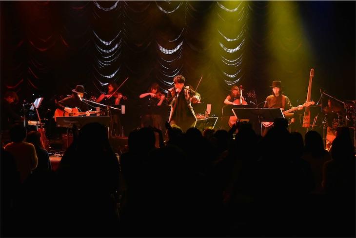 近藤晃央、ONE MAN TOUR「damp sigh is sign」ファイナル東京公演大盛況!