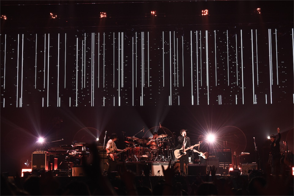 back number、30万人を動員した全国アリーナツアー「All Our Yesterdays Tour 2017」のライブ映像作品リリースを発表!