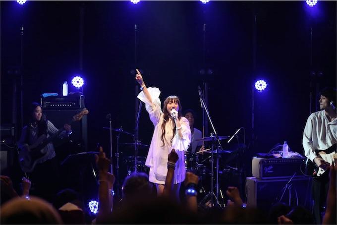 Salley、サードアルバム「Clear」リリース記念ワンマンライブ大盛況の中終演!