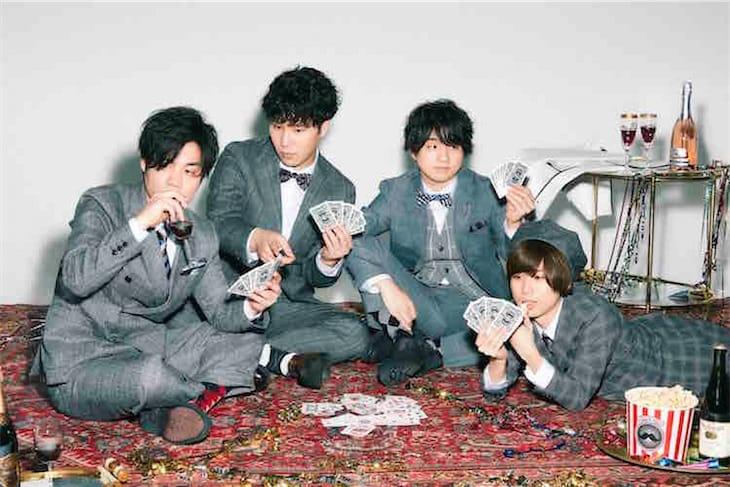 Official髭男dism、ツアーファイナル中野サンプラザ公演のエムオン!での生中継が決定!