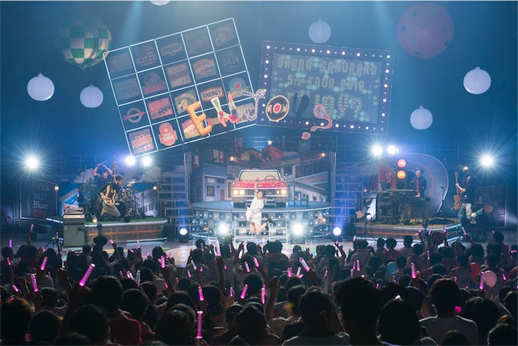 大原櫻子、3rdアルバム「Enjoy」を引っ提げた全国ツアーが大盛況の内に終了!