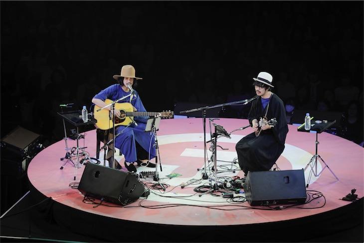 大橋トリオ+THE CHARM PARK、心地良いコラボで会場を魅了!