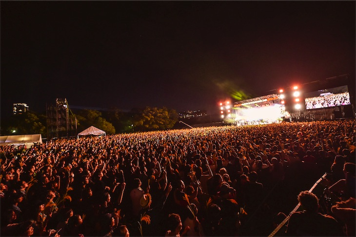 レキシ、初の大阪城野外ワンマン公演が大盛況で幕!オフィシャルレポート