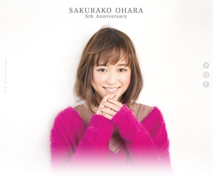 大原櫻子、5周年第一弾で初のW主演映画への出演発表!