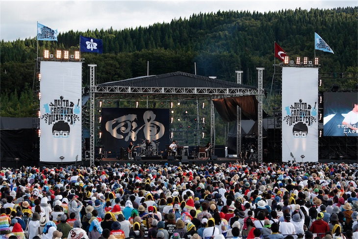 高橋 優、秋田CARAVAN MUSIC FES 2017大盛況!ニューシングルリリース&全国ツアー開催発表!