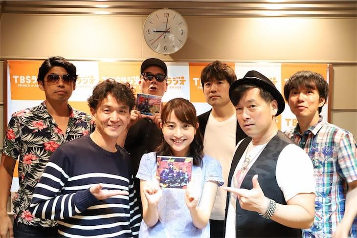 ゴスペラーズ、TBSラジオ「アフター6ジャンクション」を完全ジャック!