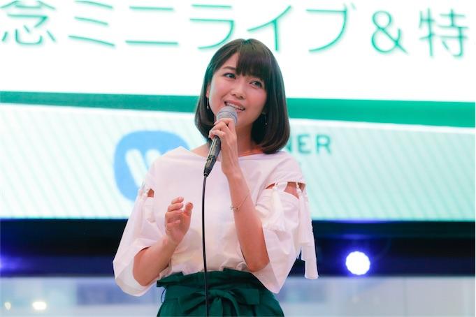 新妻聖子、ニューシングル「アライブ/ 天地(あめつち)の声」発売記念ミニライブを開催!