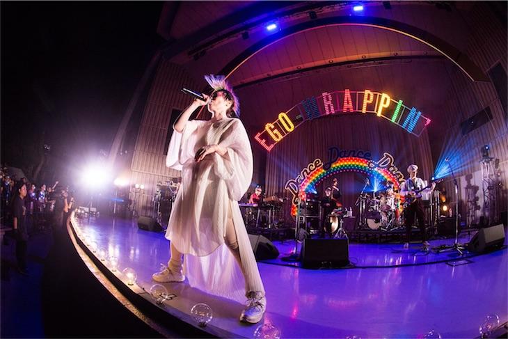 EGO-WRAPPIN'、野音ワンマンライブより2曲の最新ライブ映像をYouTubeに公開!