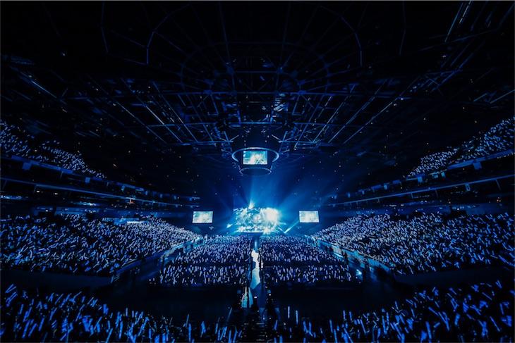 澤野弘之、上海メルセデスベンツアリーナで1万人超の観客を魅了!