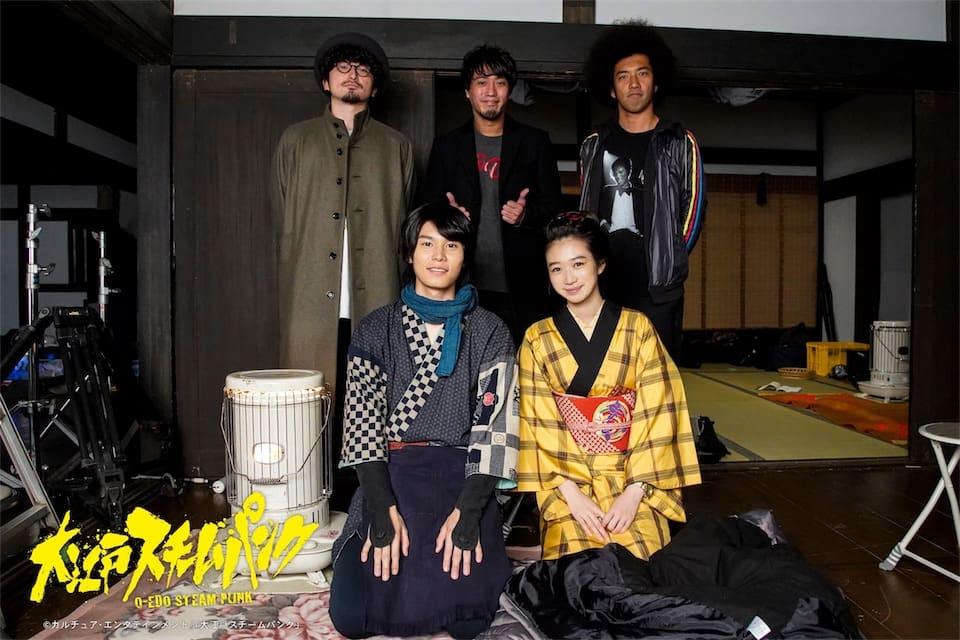 BRADIO、新曲『幸せのシャナナ』が時代劇×SFドラマ『大江戸スチームパンク』の主題歌に決定!