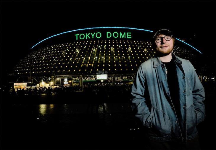 エド・シーラン、4月の東京ドーム公演SOLDOUT!大阪公演は残りわずか