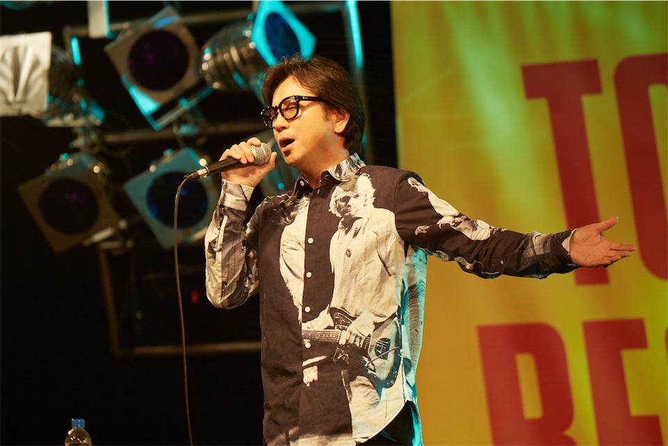 藤井フミヤ、3年ぶりのアルバムリリースを記念しトークイベントに登場!