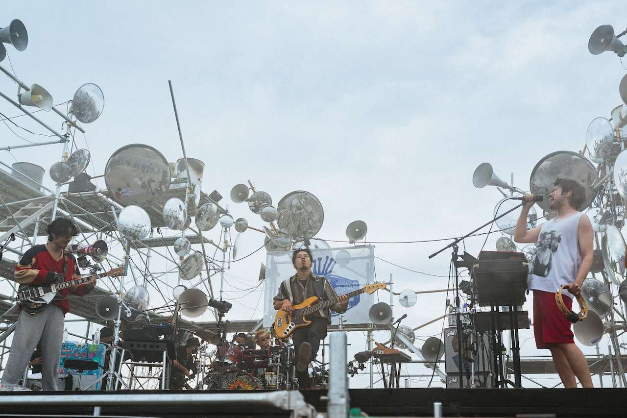 Red Bull × King Gnu、前代未聞のシークレットライブ「第二海堡」で開催!
