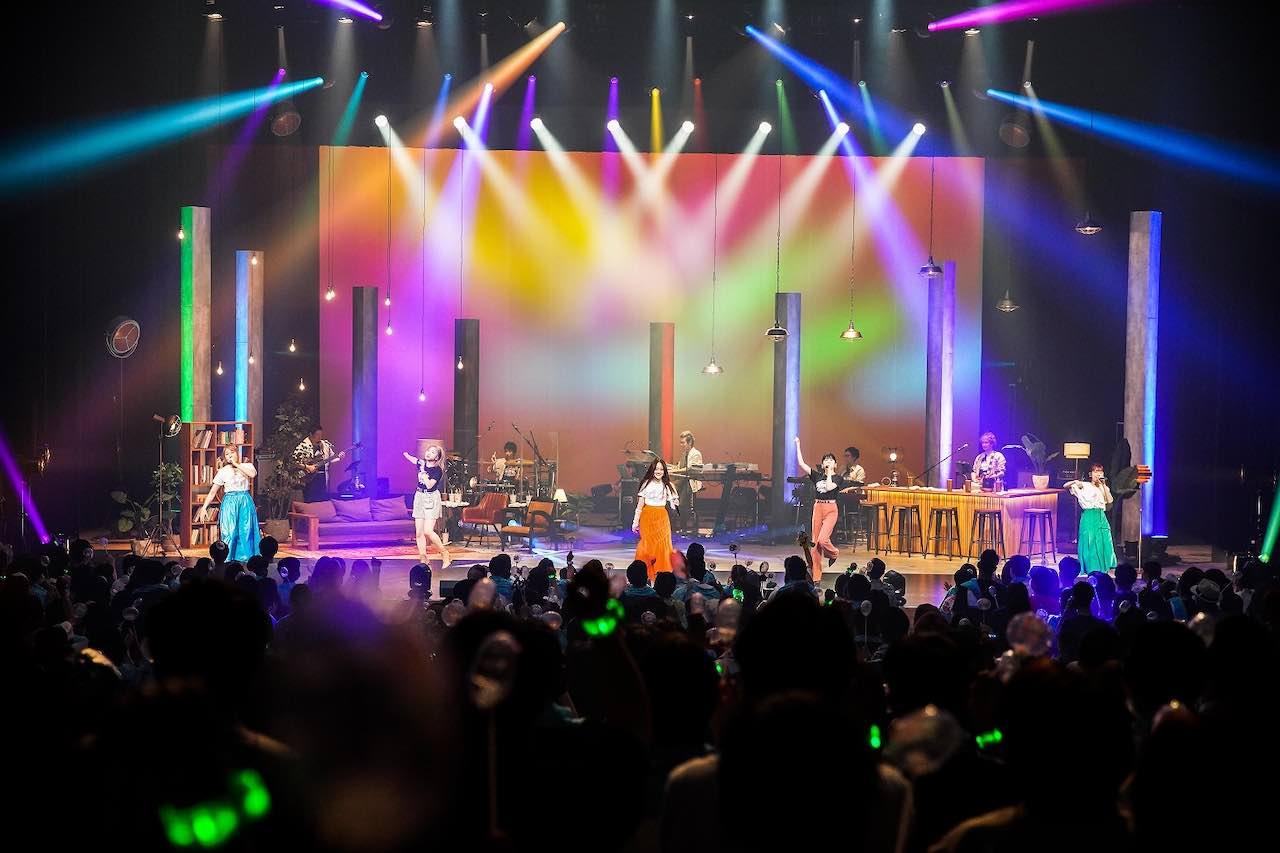 Little Glee Monster、5人が再結集したホールツアーが開幕!最速ライブレポート到着!