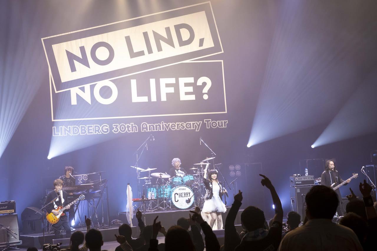 LINDBERG 30th Anniversary ツアーファイナル東京LINE CUBE SHIBUYAライブ開催!