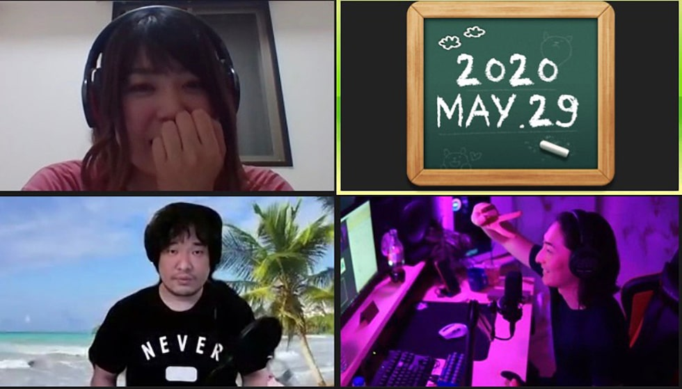 ビッケブランカ、岡崎体育と褒め合い!?「Okazaki Radio Channel」に2週に渡って登場!