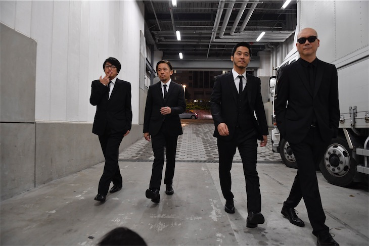 岡村靖幸とライムスター、共同制作作品「マクガフィン」発表!コードネームは「岡村靖幸さらにライムスター」