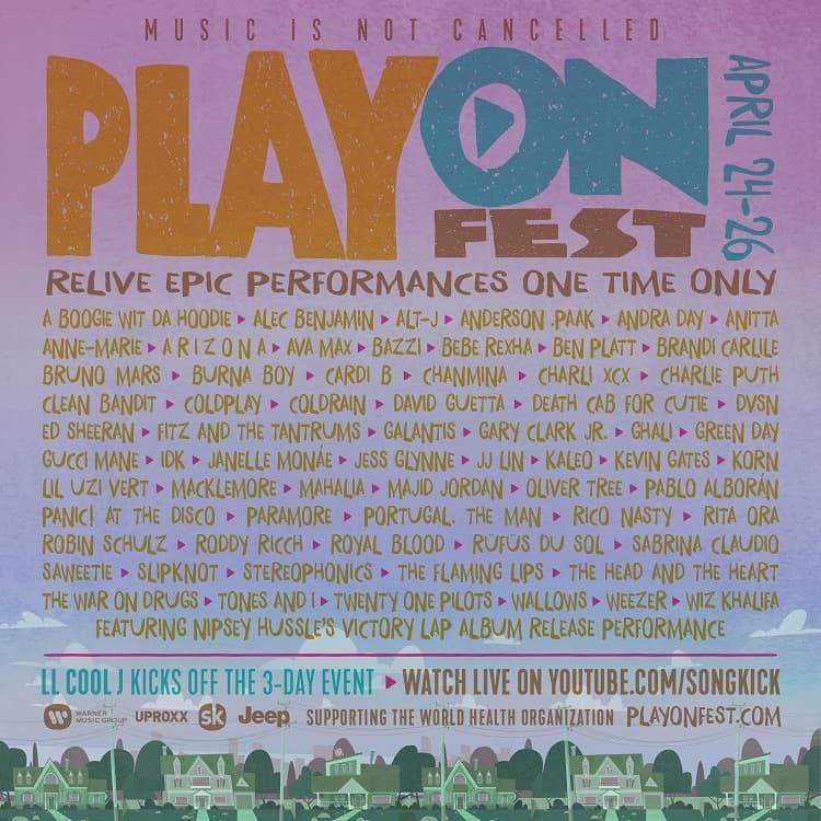音楽は止まらない!バーチャル・ミュージック・フェス「PlayOn Fest」開催を発表!