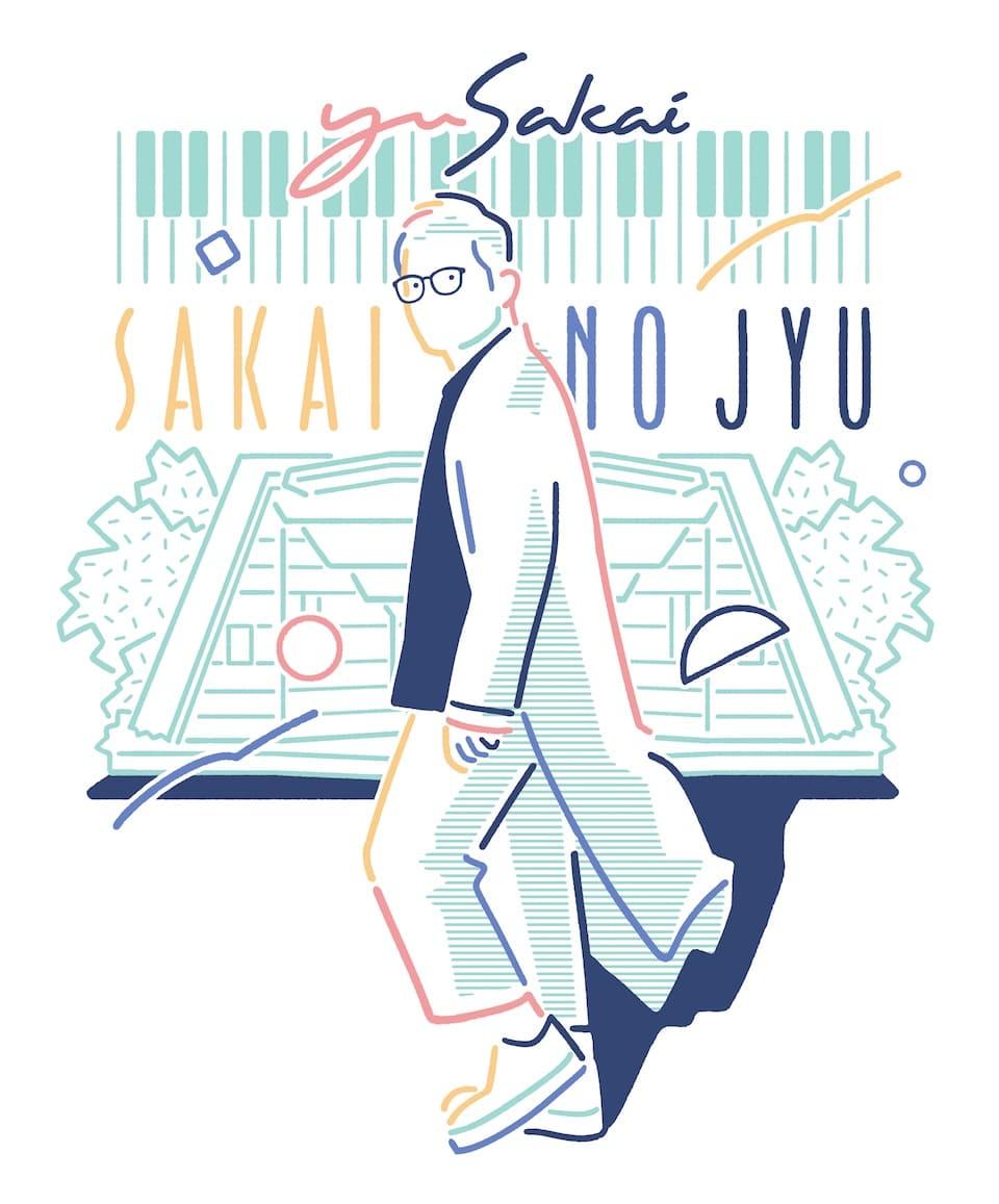 さかいゆう、SAKAIのJYUに秦 基博、JAY'ED、土岐麻子、冨田ラボの出演決定!