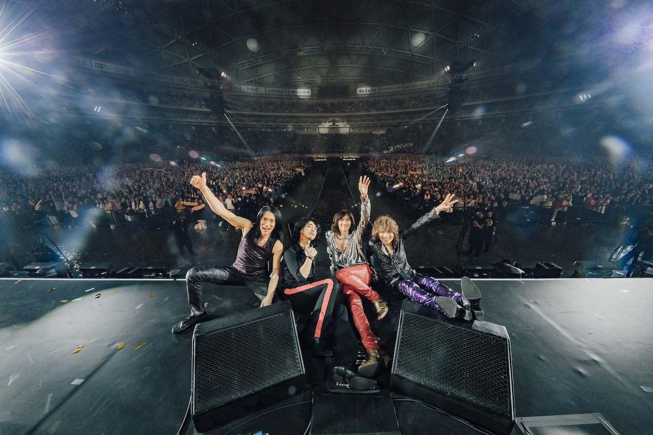 THE YELLOW MONKEY、ナゴヤドーム公演配信に先駆けて吉井和哉が選曲した開演前BGMのプレイリストを公開!