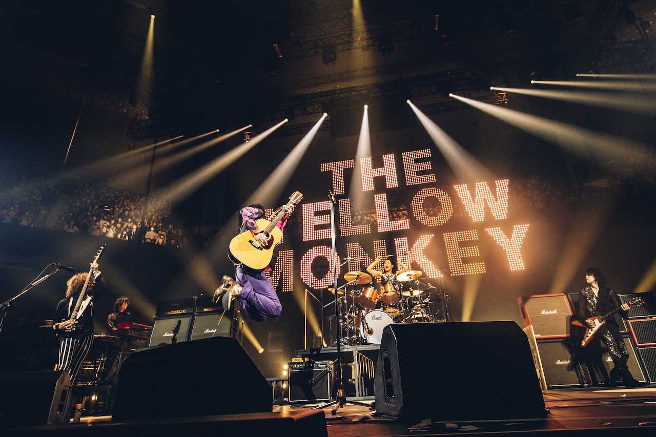 THE YELLOW MONKEY、日本武道館公演「30th Anniversary LIVE -BUDOKAN SPECIAL-」オフィシャルレポート