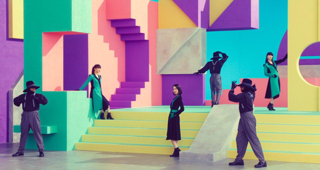 Perfume、ニューシングル「Time Warp」のMV(ショート尺)解禁!
