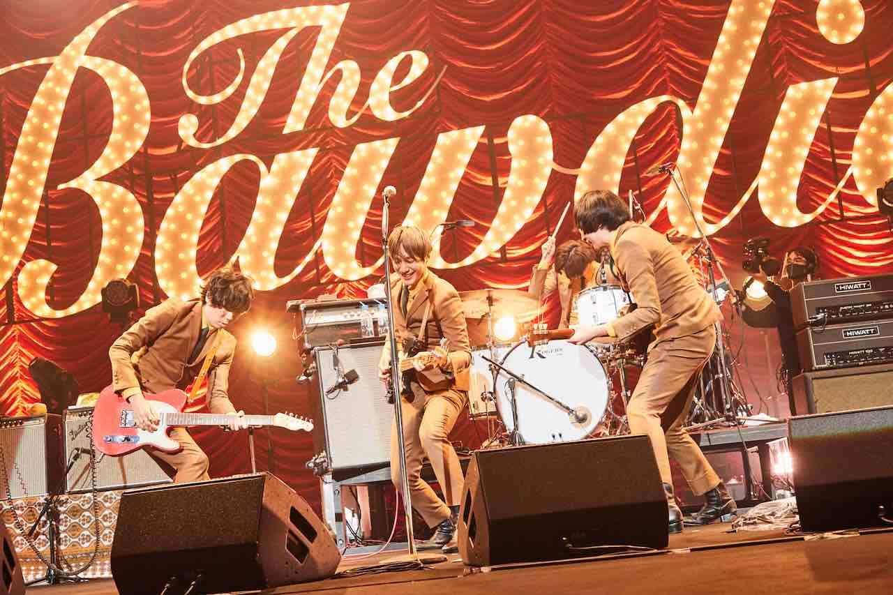 THE BAWDIES、約8ヶ月ぶりの再会!中野サンプラザ公演オフィシャルレポート!