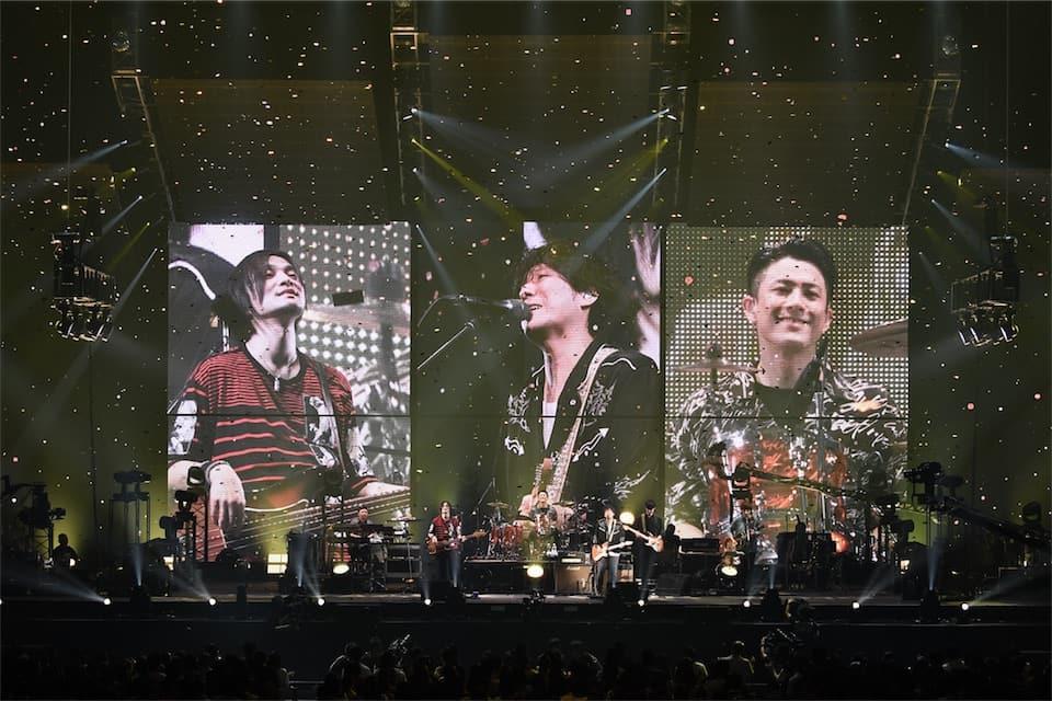 back number、大阪城ホールでのライブ映像を3月25日にリリース決定!