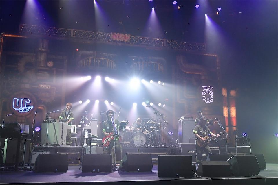 ユニコーン、武道館のステージでニューアルバム「UC100W」リリースを発表!