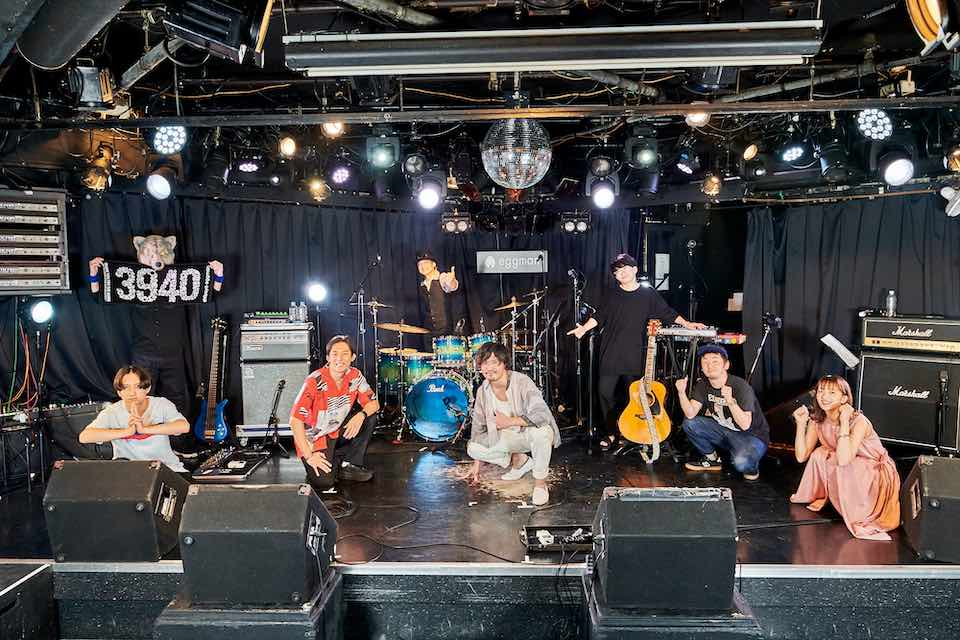 shibuya eggman クラウドファンデング支援者リターンのスペシャル配信ライブ開催!