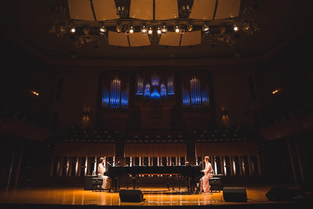 花*花、デビュー20周年記念日にクラシックの殿堂ザ・シンフォニーホールからスペシャルオンラインライブ!