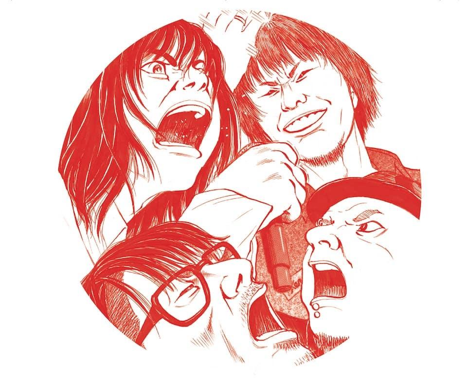 宮本浩次、「宮本から君へ」新井英樹氏が描き下ろしのレコーディングメンバーのイラストをサプライズ掲載!
