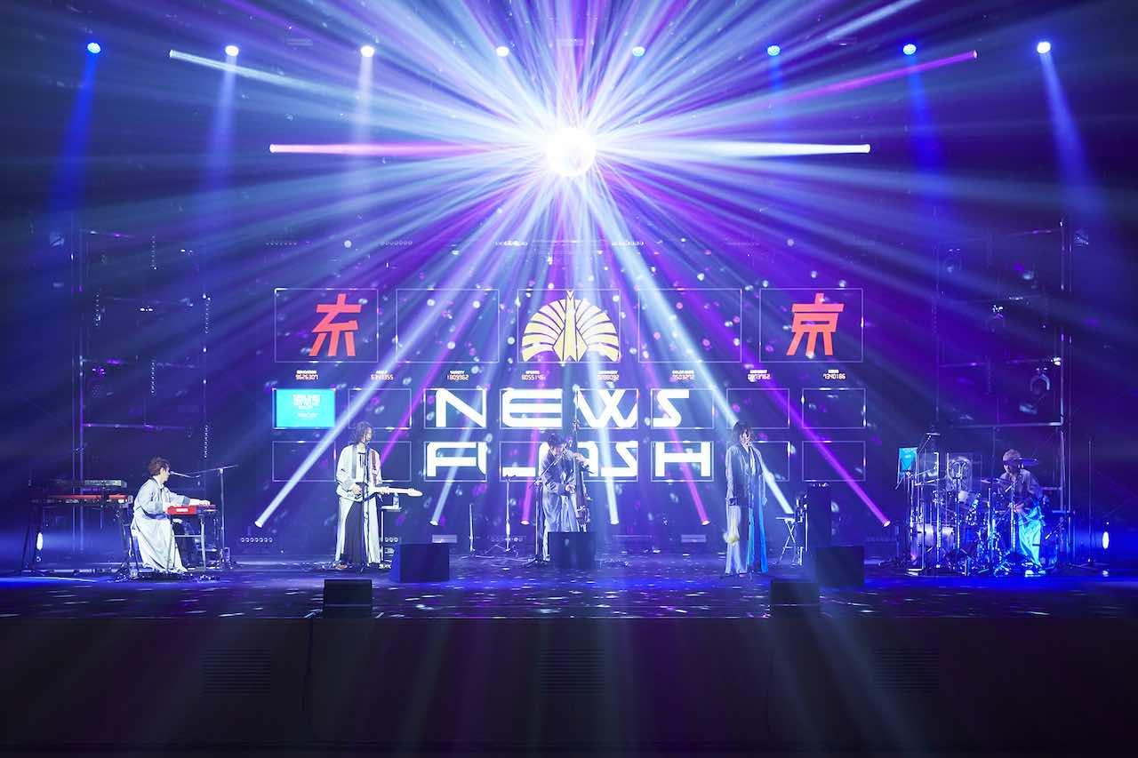 東京事変、最新の実演をBlu-ray/DVD化!4月14日発売決定!