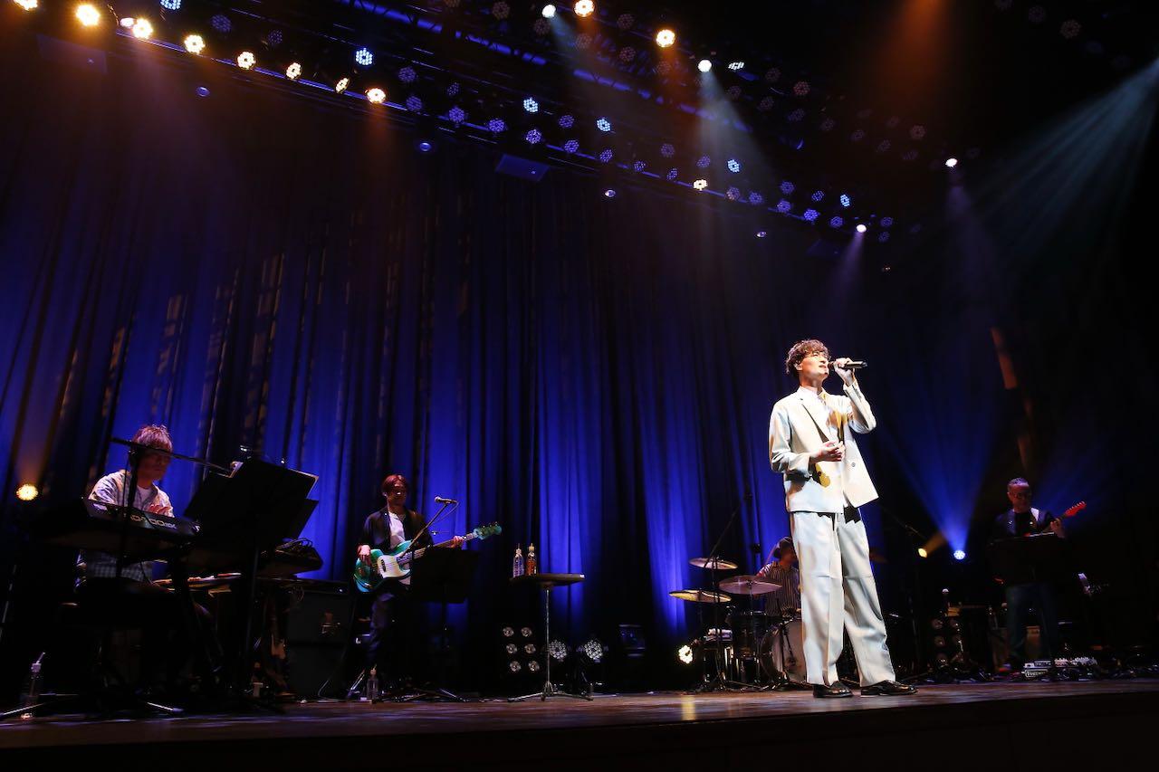 海蔵亮太、約1年半振り有観客ワンマンで新曲「誰そ彼」初披露!