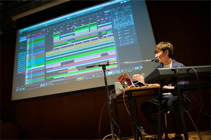 田中隼人がリアルタイムでアレンジを披露!agehasprings Open Lab.イベントレポート
