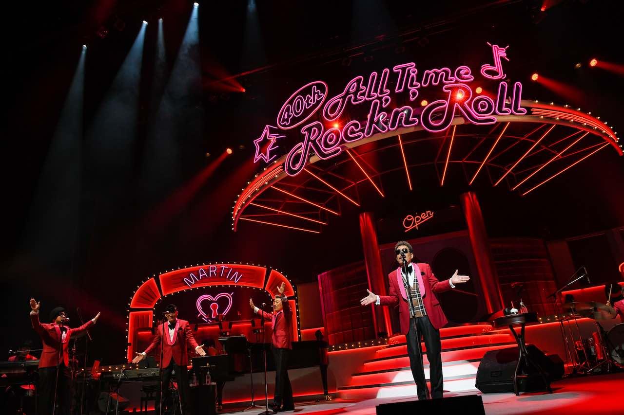 鈴木雅之、40周年ツアー大阪公演で鈴木愛理と大ヒット曲をコラボレーション!盟友・桑野信義がステージに帰還!