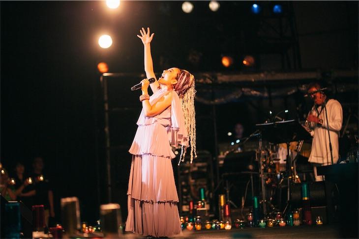 MISIA、福島いわき市にて復興と平和への祈りを込めたMisia Candle Nightを開催!