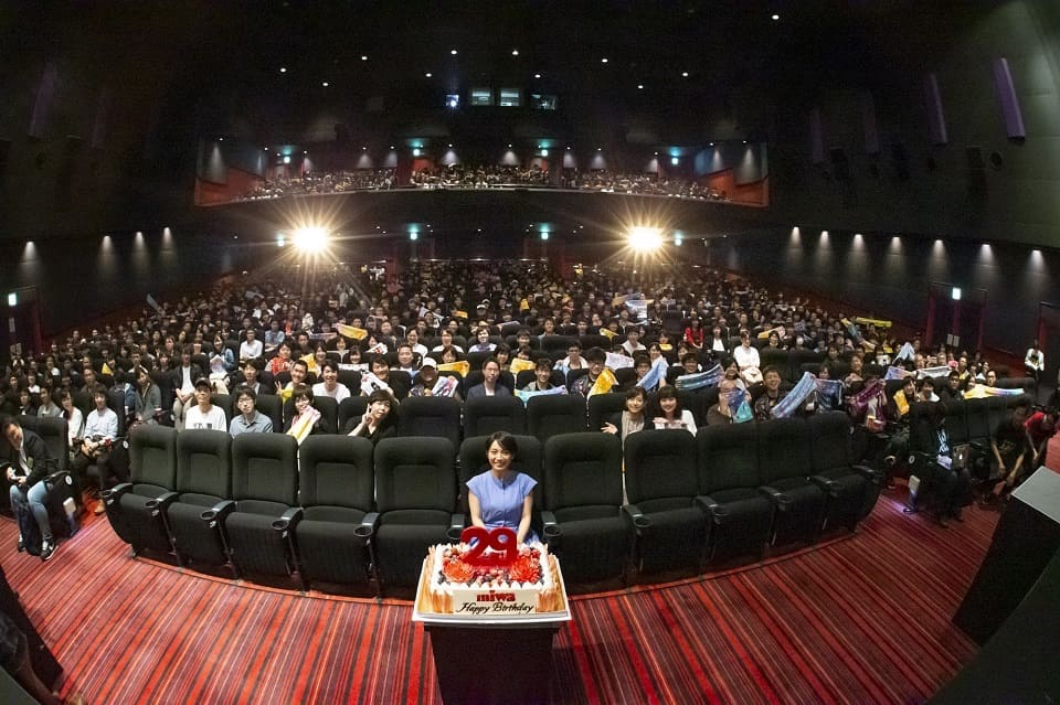 miwa、1日限定プレミアム上映会に登壇!ツアーの想いを振り返る!
