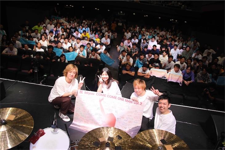 Miyuu、自身初となるバンド編成でのワンマンライブSOLD OUT!