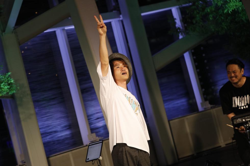 ナオト・インティライミ、銀座のど真ん中でお祭り騒ぎ!2020年ナオトの日初の生配信LIVE!