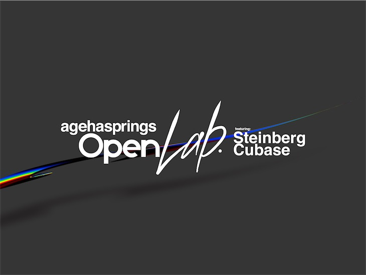 agehasprings Open Lab. featuring Steinberg Cubaseが9月7日より開催決定!
