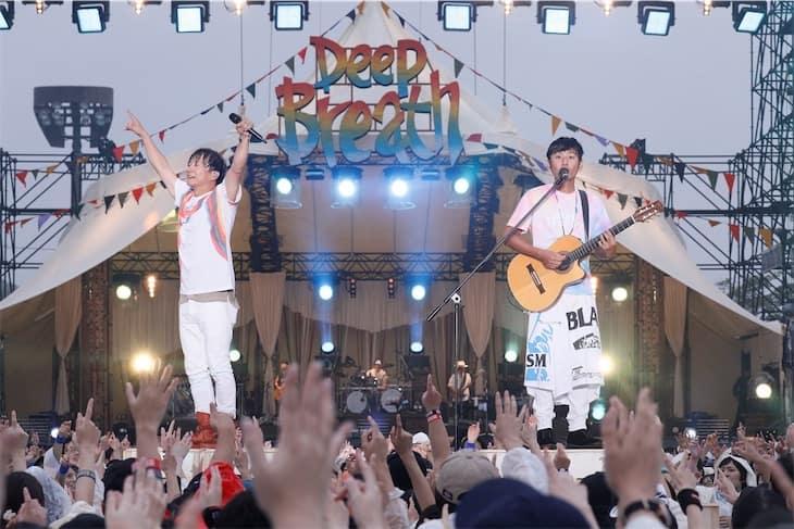 ポルノグラフィティ、9月に広島で行ったライブの模様をWOWOWで全曲放送!スペシャル動画も配信!